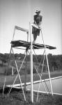 1939 05 Honeymoon - Goulden Pool, Stirling - Una Shepherd
