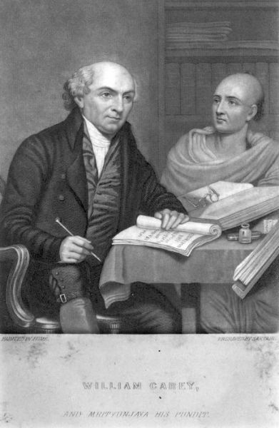 1811 William Carey, Pundit Mrityunjaya Vidyalankar