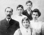 1902 Major Edward Brown family