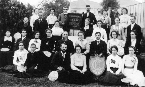 1905 Semaphore Baptist Church Group