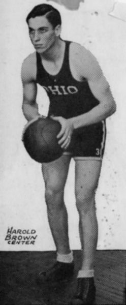 1931 Basketball Champ Harold Brown