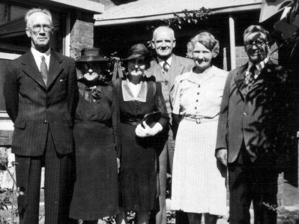 1938 Walker and Shepherd families