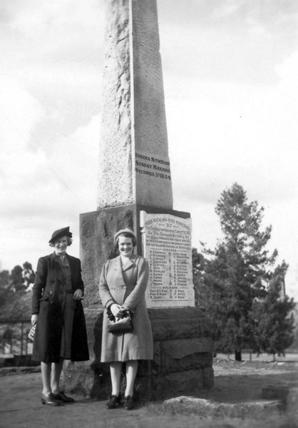 1941 07 Ballarat - Una Shepherd, friend