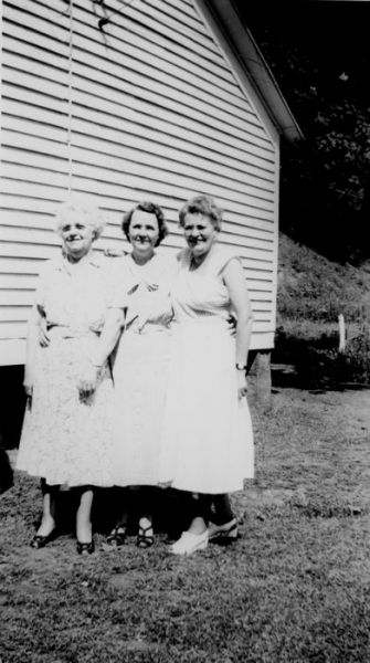 1949 Goldie Niday, Mary Thornton, Welth Stevers