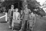 1950 02 Tom, Elma Graham, Alan, John Shepherd