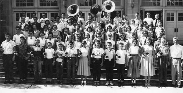 1952 Gallipolis Gallia Academy High School Band