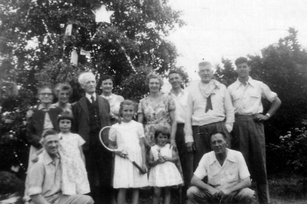 1954 Sargent family