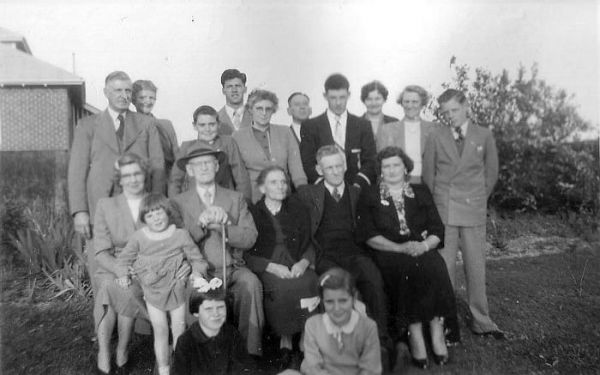 1955 01 Christmas - Sargent family
