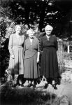 1955 Grant Ave - Nell Murray, Mabel Shepherd, Lilly White
