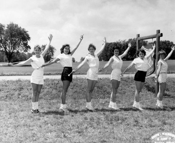 1957 Syracuse IN Majorette Camp