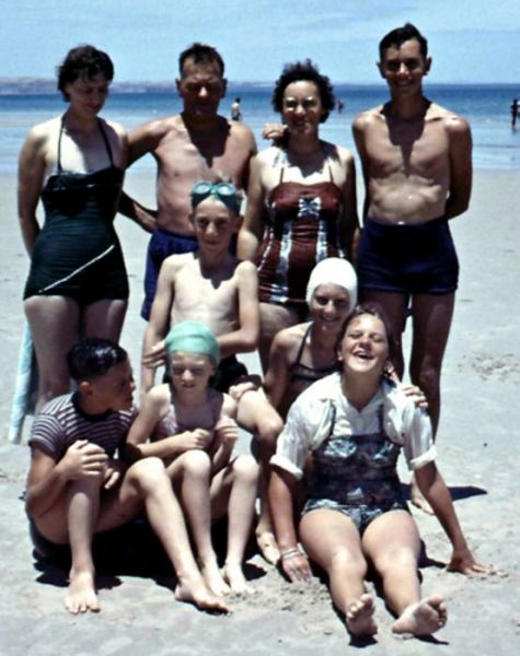 1961 West Beach - Muller families