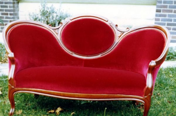 1992 The Brown Loveseat
