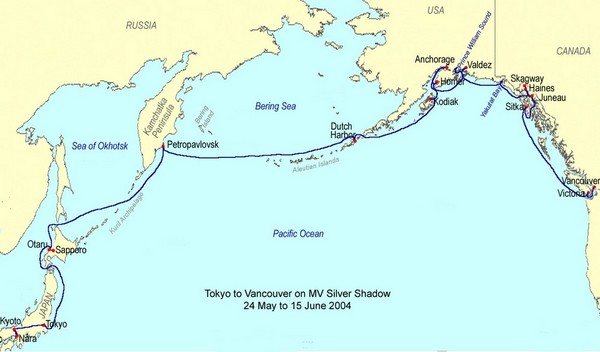 2004-05-19 Pacific Rim Route Map | Shep's Place | Family ...